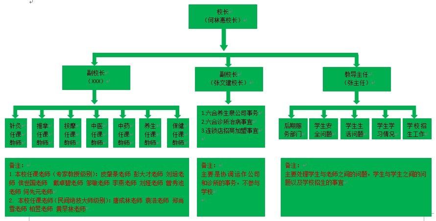 1,统筹重庆六合职业培训学校发展;2,统筹重庆六合养生泉有限公司发展